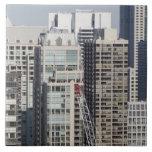 Vista panorámica aérea de edificios en Chicago 2 Tejas Ceramicas