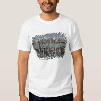 Vista panorámica de Constantinopla, tarde décimo Camisas