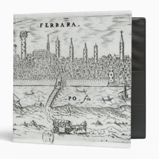"Vista panorámica de Ferrara Carpeta 1 1/2"""