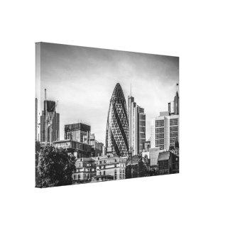 Vista panorámica de la ciudad de Londres Impresiones En Lona