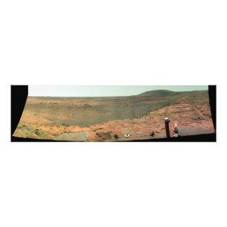 Vista panorámica de Marte Fotografia