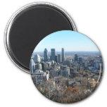 Vista panorámica de Montreal Iman De Nevera