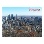 Vista panorámica de Montreal Tarjetas Postales