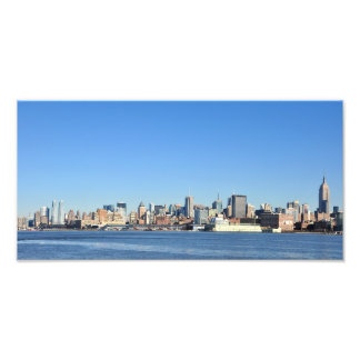 Vista panorámica de New York City Impresion Fotografica