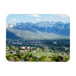 Vista panorámica de Salt Lake City Iman Flexible