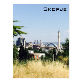 Vista panorámica de Skopje Postales