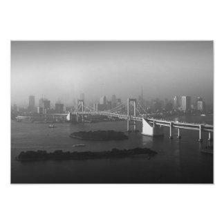 Vista panorámica de Tokio Impresiones Fotograficas