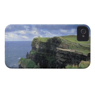 vista panorámica de un acantilado por la playa iPhone 4 cárcasas