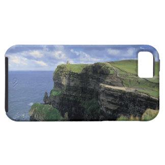 vista panorámica de un acantilado por la playa iPhone 5 cárcasas