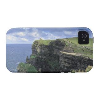 vista panorámica de un acantilado por la playa vibe iPhone 4 carcasa