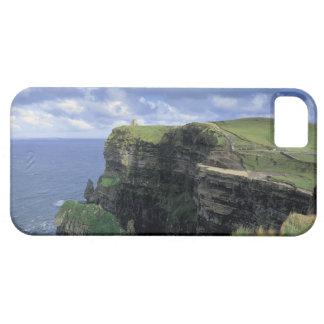 vista panorámica de un acantilado por la playa iPhone 5 Case-Mate funda