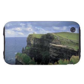 vista panorámica de un acantilado por la playa tough iPhone 3 protectores