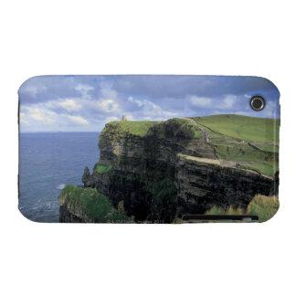 vista panorámica de un acantilado por la playa iPhone 3 Case-Mate carcasas
