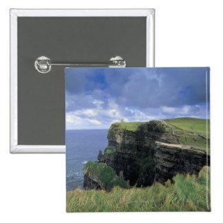 vista panorámica de un acantilado por la playa pin