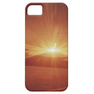 vista panorámica de una salida del sol iPhone 5 fundas