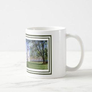 Vista panorámica del faro de Marblehead Tazas De Café