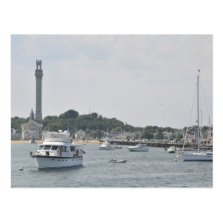 Vista panorámica del puerto de Provincetown Tarjeta Postal