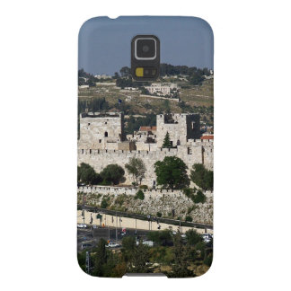 Vista para a Torre de Davi e o Domo da Rocha Cases For Galaxy S5
