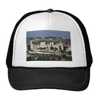 Vista para a Torre de Davi e o Domo da Rocha Hats