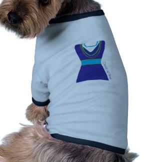 Vista para arriba el tiempo camiseta de mascota