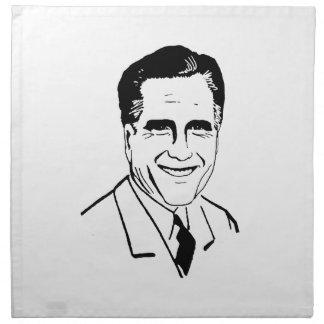 Vista para arriba Romney.png Servilleta Imprimida