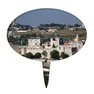 Vista para un Torre de Davi e o Domo DA Rocha Decoraciones De Tartas