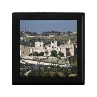 Vista para un Torre de Davi e o Domo DA Rocha Cajas De Recuerdo