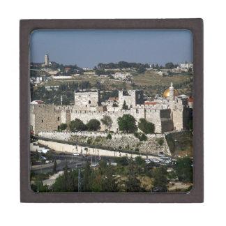 Vista para un Torre de Davi e o Domo DA Rocha Cajas De Joyas De Calidad