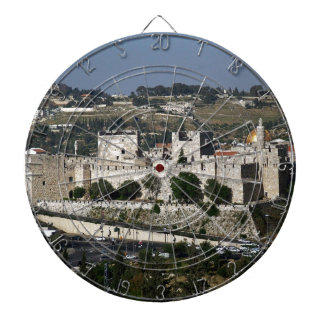 Vista para un Torre de Davi e o Domo DA Rocha Tabla Dardos