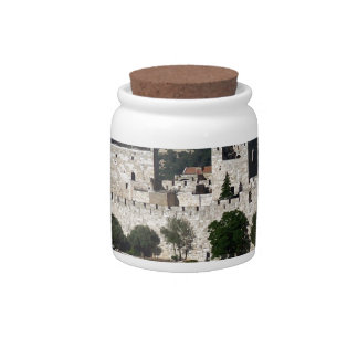 Vista para un Torre de Davi e o Domo DA Rocha Plato Para Caramelo