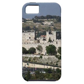 Vista para un Torre de Davi e o Domo DA Rocha iPhone 5 Case-Mate Fundas