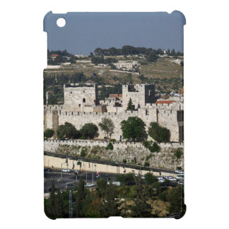 Vista para un Torre de Davi e o Domo DA Rocha iPad Mini Cárcasas