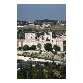 Vista para un Torre de Davi e o Domo DA Rocha Papelería Personalizada