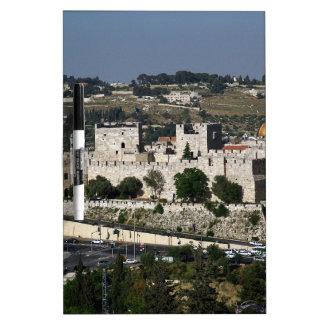 Vista para un Torre de Davi e o Domo DA Rocha Pizarra Blanca