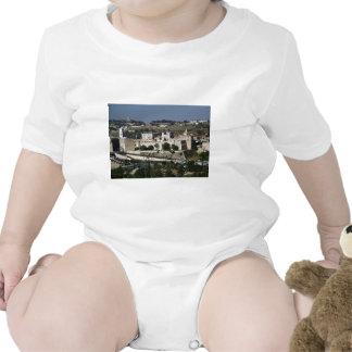 Vista para un Torre de Davi e o Domo DA Rocha Trajes De Bebé