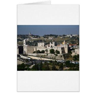 Vista para un Torre de Davi e o Domo DA Rocha Tarjetón