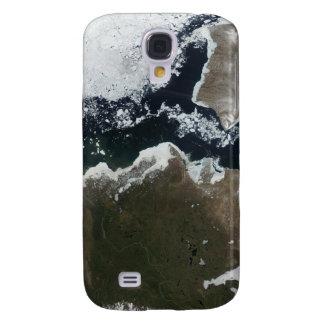 Vista por satélite de Canadá del noroeste Funda Samsung S4