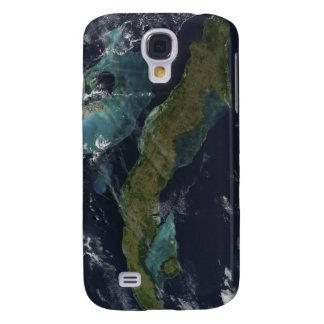 Vista por satélite de Cuba