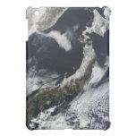 Vista por satélite de Japón