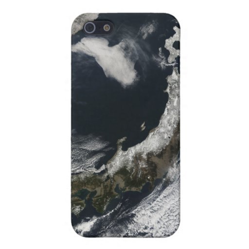 Vista por satélite de Japón iPhone 5 Cárcasa