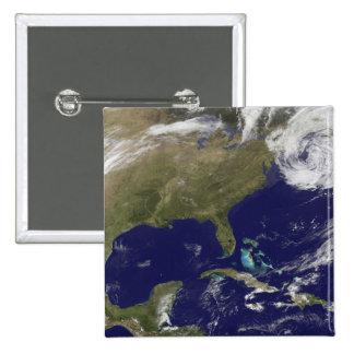 Vista por satélite de la costa este de Estados