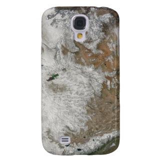 Vista por satélite de los Estados Unidos Funda Para Samsung Galaxy S4