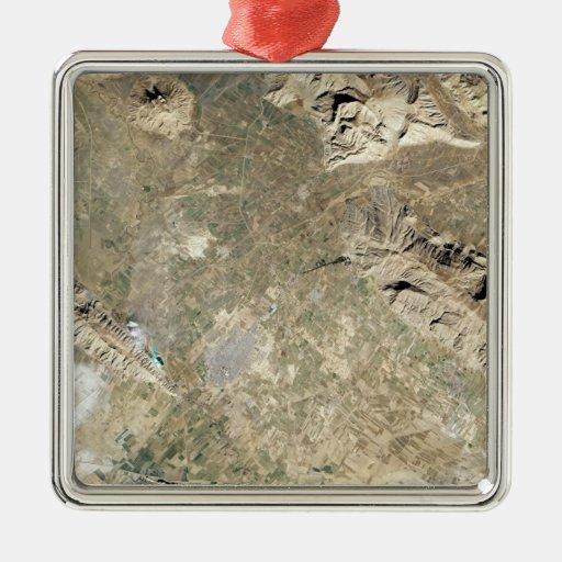 Vista por satélite de Persepolis Adorno Para Reyes