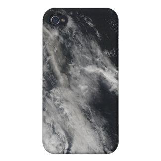 Vista por satélite de un penacho 2 de la ceniza iPhone 4 fundas