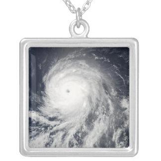 Vista por satélite del huracán Celia Colgante Cuadrado