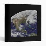 Vista por satélite del huracán Sandy
