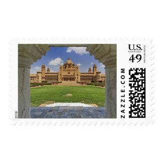 Vista posterior del hotel del palacio de Umaid Sellos