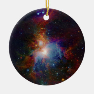 VISTA s infrared view of the Orion Nebula Christmas Ornaments