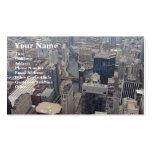 Vista septentrional de Chicago de Torre Sears Plantilla De Tarjeta De Negocio