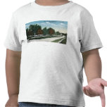 Vista septentrional de la calle de Bradley Camisetas
